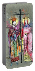 Sts. Constantine And Helen Portable Battery Charger
