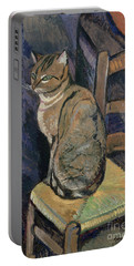 Study Of A Cat Portable Battery Charger