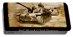 Stug IIi Ausf G Tank Destroyer Portable Battery Charger
