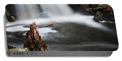 Stumped At The Secret Waterfall Portable Battery Charger