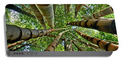 Stunning Bamboo Forest - Color Portable Battery Charger