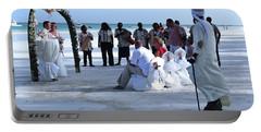 Stunning Kenya Beach Wedding Portable Battery Charger