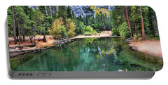 Stunning Lake - Yosemite  Portable Battery Charger