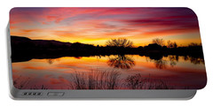 Stunning Pink Sunset Portable Battery Charger