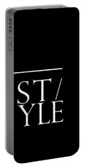 Style 1 - Minimalist Print - Typography - Quote Poster Portable Battery Charger