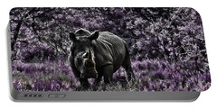 Styled Environment-the Modern Trendy Rhino Portable Battery Charger by Douglas Barnard