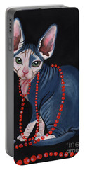 Stylish Sphynx Portable Battery Charger