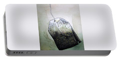 Submerged Tea Bag Portable Battery Charger by Mary Ellen Frazee