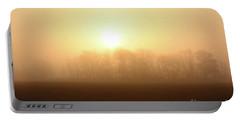 Subtle Sunrise Portable Battery Charger