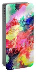 Subtle Vibrations, Canvas Four Of Five Portable Battery Charger