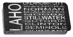 Subway Oklahoma State Square Portable Battery Charger