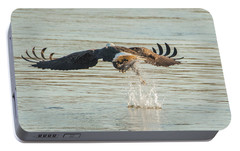 Portable Battery Charger featuring the photograph Success From Behind by Jeff at JSJ Photography