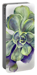 Succulent Plant Portable Battery Charger