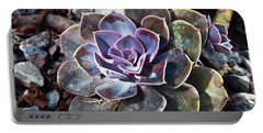 Succulent Plant Poetry Portable Battery Charger