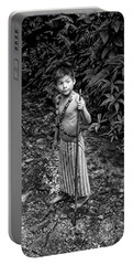 Portable Battery Charger featuring the photograph Sucua Kids 898 by Al Bourassa