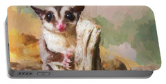 Sugar Glider - Painterly Portable Battery Charger