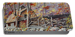 Sugar Shack Beauce Quebec Portable Battery Charger