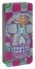 Sugar Skull Portable Battery Charger