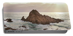 Portable Battery Charger featuring the photograph Sugarloaf Rock Sunset by Ivy Ho
