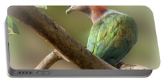 Sulawesi Green Imperial Pigeon Portable Battery Charger