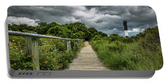 Sullivan's Island Summer Storm Clouds Portable Battery Charger