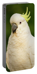 Sulphur Crested Cockatoo Portable Battery Charger by Craig Dingle