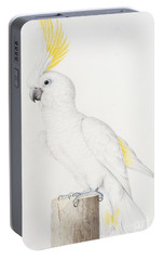 Sulphur Crested Cockatoo Portable Battery Charger by Nicolas Robert