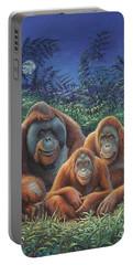 Sumatra Orangutans Portable Battery Charger