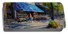 Summer Afternoon, Columbus Avenue Portable Battery Charger
