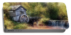Summer At The Mill Portable Battery Charger
