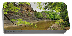 Portable Battery Charger featuring the photograph Summer At The Pinnacles by Cricket Hackmann