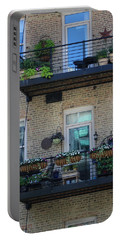 Summer Balconies In Chicago Illinois Portable Battery Charger