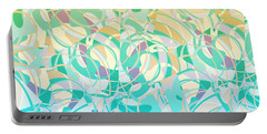 Summer Beach Days Abstract Portable Battery Charger