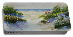 Summer Beach Portable Battery Charger
