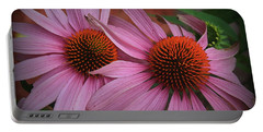 Summer Beauties - Coneflowers Portable Battery Charger