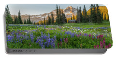 Summer Beauty At Indian Henry's Hunting Ground Portable Battery Charger