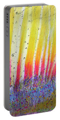 Summer Birch  Portable Battery Charger by Linde Townsend