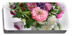 Summer Bouquet Portable Battery Charger by Louise Kumpf