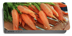 Summer Carrots Portable Battery Charger