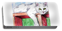 Summer Cat Portable Battery Charger