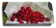 Summer Cherries Portable Battery Charger