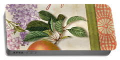Summer Citrus Grapefruit Portable Battery Charger by Mindy Sommers
