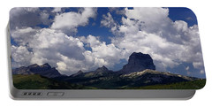Summer Day At Chief Mountain Portable Battery Charger