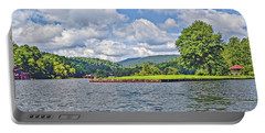 Summer Day At The Lake Portable Battery Charger