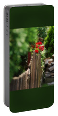Portable Battery Charger featuring the photograph Summer Day... by Marija Djedovic