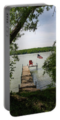 Summer Days On Lake Como Portable Battery Charger