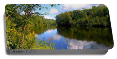 Portable Battery Charger featuring the photograph Summer by Elfriede Fulda