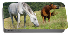 Summer Evening For Horses Portable Battery Charger