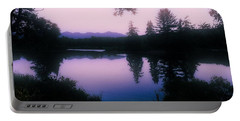 Portable Battery Charger featuring the photograph Summer Evening In New Hampshire by Robin Regan