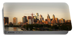 Summer Evening In Philadelphia Portable Battery Charger